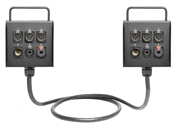 Dual 6-Channel Studio Wall Box / Stage Box | Made from Mogami 2932 & Neutrik Gold Connectors