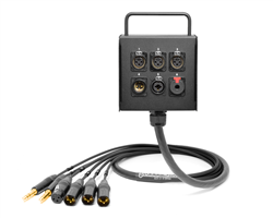 6-Channel Studio Wall Box / Stage Box | Made from Mogami 2932 & Neutrik Gold Connectors | Premium Finish
