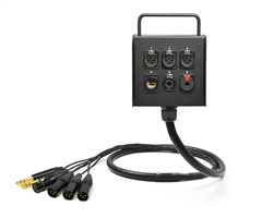 6-Channel Studio Wall Box / Stage Box | Made from Mogami 2932 & Neutrik Gold Connectors | Standard Finish