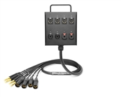 8-Channel Studio Wall Box / Stage Box | Made from Grimm TPR8 & Neutrik Gold Connectors | Premium Finish