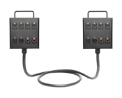 Dual 8-Channel Studio Wall Box / Stage Box | Made from Mogami 2932 & Neutrik Gold Connectors