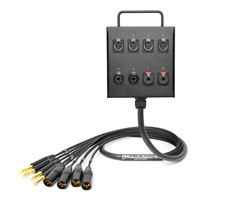 8-Channel Studio Wall Box / Stage Box | Made from Mogami 2932 & Neutrik Gold Connectors | Premium Finish