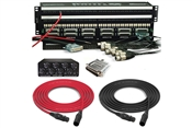 Mini-Shorti DB25 Patchbay & Little Labs Redcloud Attenuator Package