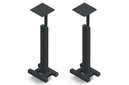 "Sound Anchors COMPADJ | 32"" Compact Adjustable Monitor Stand (Pair)"