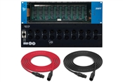 API Audio 500VPR | 10 Slot Rack with Power Supply