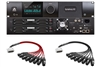 Apogee Symphony I/O MKII Dante/Pro Tools HD Chassis with 16 Analog In + 16 Analog Out + 16 Analog In + 16 Analog Out