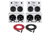 Augspurger Classic 215-H Sub218-SXE3/3500 | 3-way Active DSP Monitors | Pair