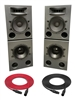 Augspurger Solo 12MF Sub12 SXE3/3500 | 3-way Active DSP Monitors | Pair