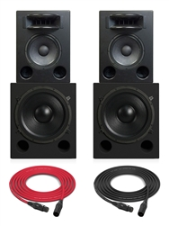 Augspurger Solo 12MF Sub18 SXE3/3500 | 3-way Active DSP Monitors | Pair