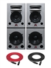 Augspurger Solo 15 Sub18 SXE3/3500 | 3-way Active DSP Monitors | Pair