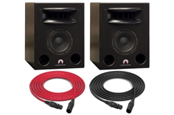 Augspurger Solo 8 SUB212 SXE3/3500 | 2-way Active DSP Monitors | Pair