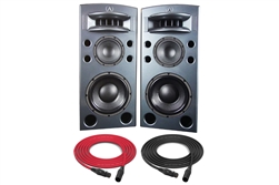 Augspurger TREO 812-V | 3-way Full-range Active DSP Monitors | Pair