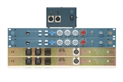 BAE 1023 | 2 Single Channel Mic Pres + Equalizer with PSU | Stereo Pair
