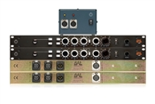 BAE 1028 | 2 Single Channel Mic Pres + EQ with PSU | Stereo Pair (Black)