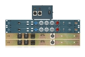 BAE 1066D | 2 Single Channel Mic Pres + EQ with PSU | Stereo Pair