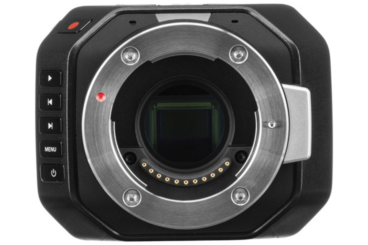 Blackmagic Design Micro Cinema Camera Miniature Digital Camera Pro Audio La