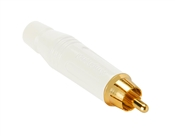 Amphenol ACPR-WHT RCA Male Gold Connector