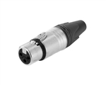Neutrik NC3FXX Nickel XLR-Female Connector