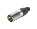 Neutrik NC3MXX Nickel XLR-Male Connector
