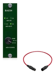 Burl Audio BAES4 | 4 Channel AES Card for Mothership