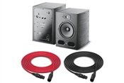 Focal Alpha 80 | Active 2-Way Nearfield Monitor | Pair with Optional IsoAcoustics Stands