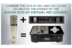 Gauge ECM-87 Classic | Cardioid Condenser Virtual Mic Locker Kit
