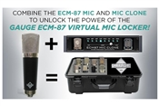 Gauge ECM-87 Stealth | Cardioid Condenser Virtual Mic Locker Kit