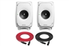 Genelec 8331A SAM | 3-Way Smart Active Studio Monitor | Pair (White)
