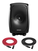 Genelec 8341A SAM | 3-Way Smart Active Studio Monitor | Single (Black)