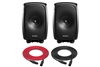Genelec 8341A SAM | 3-Way Smart Active Studio Monitor | Pair (Black)