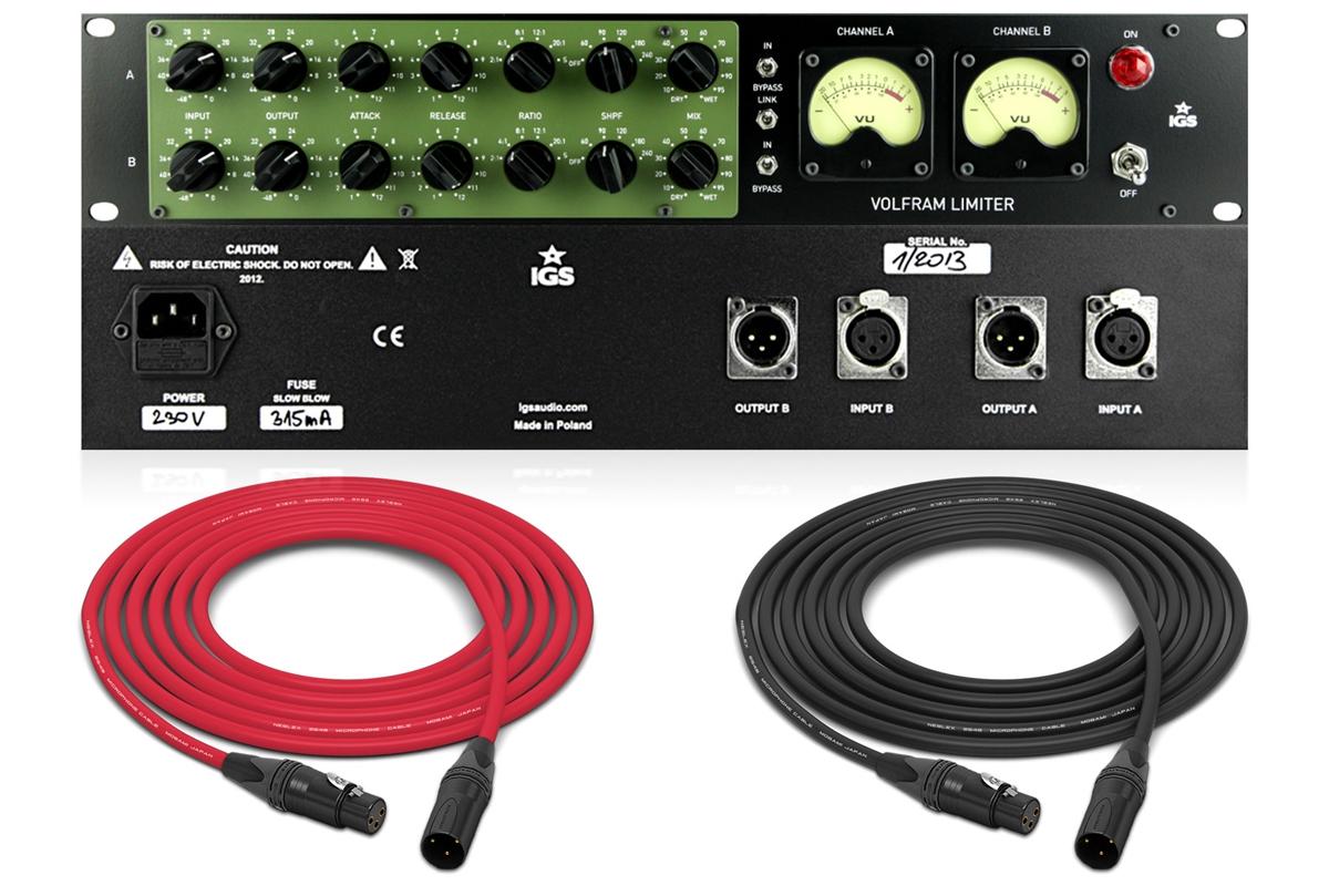 IGS Audio Volfram | Stereo Compressor / Limiter