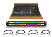 Looptrotter Modular Console Patchbay & Cabling Package for 16 Channels