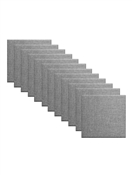 "Primacoustic Broadway 2"" Control Cube Acoustic Wall Panel 12-pack - Grey w/ Square Edge"