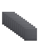 "Primacoustic Broadway 2"" Control Cube Acoustic Wall Panel 12-pack - Black w/ Beveled Edge"