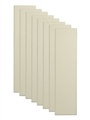 "Primacoustic Broadway 3"" Control Column Acoustic Wall Panel 8-pack - Beige w/ Beveled Edge"