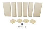 Primacoustic London 12 | 10x12 ft. Acoustic Panel Room Kit (Beige)