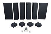 Primacoustic London 12 | 10x12 ft. Acoustic Panel Room Kit (Black)