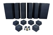 Primacoustic London 16 | Acoustic Panel Room Kit (Black)
