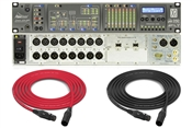 Prism Sound ADA-8XR AES PTHDX | 8 Channel AD and 8 Channel DA Converter w/ AES & Pro Tools HDX