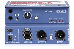 Radial DINET DAN-RX2 | 2-Channel 24 bit/96 kHz Digital to Analog Endpoint