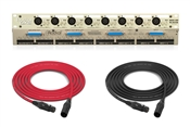 Radial OX8-j | 8 Channel 3 Way Mic Splitter with Premium Transformers