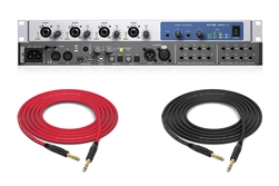 RME Fireface 802 | 30-in/30-out Hybrid USB/FireWire Audio Interface