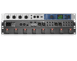 Package of RME Fireface UFX+ & Mogami Line Input Panel | 24 bit / 192 Khz 188 Ch. USB / Thunderbolt Interface
