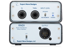 Rupert Neve Designs RNDI | Active Transformer Direct Interface