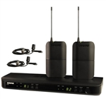 Shure BLX188/CVL | Dual Channel Lavalier Wireless System with CVL Microphones