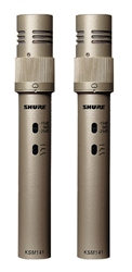 Shure KSM141/SL | Dual Pattern Condenser Microphone (Stereo)