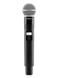 Shure QLXD2/SM58 | Handheld Wireless Transmitter with SM58 Microphone