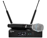 Shure QLXD24/B87A | Handheld Wireless System with BETA87A