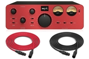 SPL Crossover | Active all-analog 2-way crossover (Red)