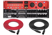 SPL HERMES | Mastering Router with dual Parallel Mix (Red)